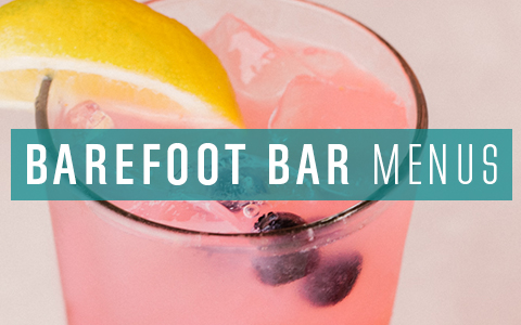barefoot bar menu image